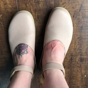 Super Soft Leather Mary Janes Blush Pink.